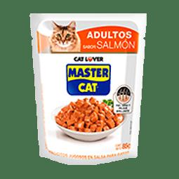 Pouch Master Cat Salmón 85 Gr