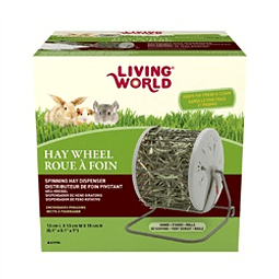 Living World Dispensador de Heno Giratorio
