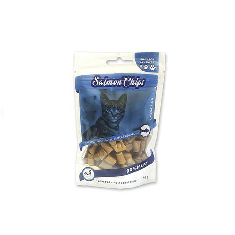 Salmón Chips para Gatos 50 gr