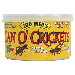 Zoomed Can O Cricket (Grillos)
