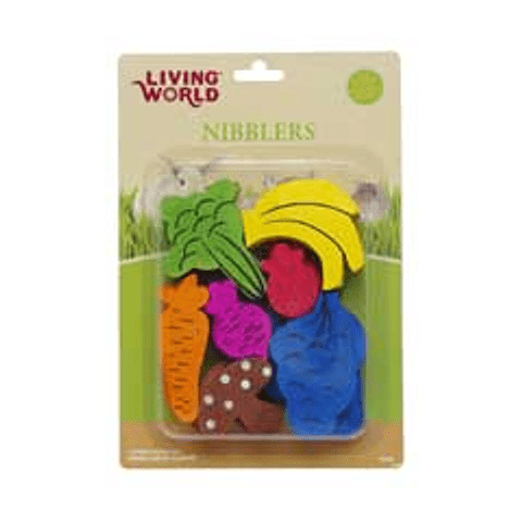 Living World Nibblers Mix de Maderas para Roer