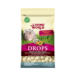 Living World Drops Yogurt Hamster 75 gr