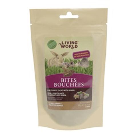 Living World Bites Bouchées (Bocado de Quinoa) 50 gr.