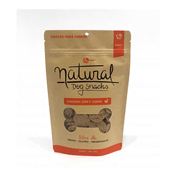 Natural Dog Snacks Chicken Jerky Coins