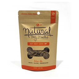 Natural Dog Snacks Beef Jerky Coins