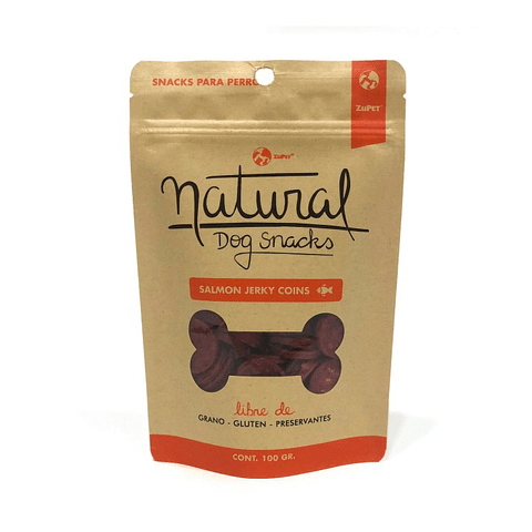 Natural Dog Snacks Salmón Mini Bones