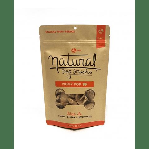 Natural Dog Snacks Piggy Pop