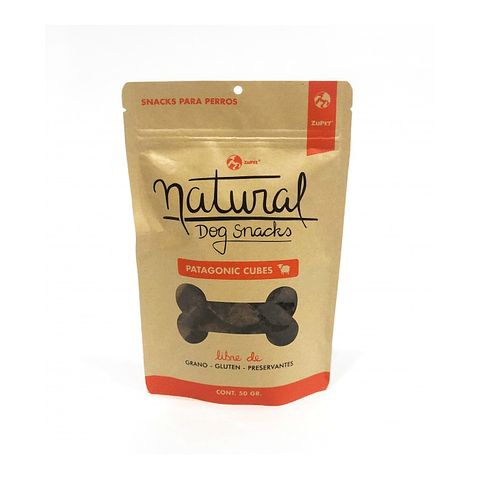 Natural Dog Snacks Patagonic Cubes