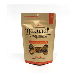 Natural Dog Snacks Cranberry Lamb Nougat