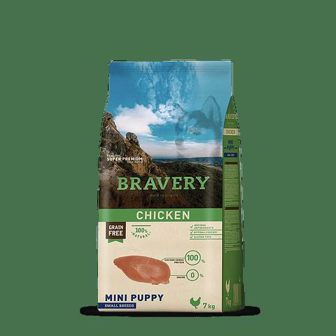 Bravery Pollo Raza Pequeña Puppy 7 Kg