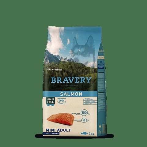 Bravery Salmon Adulto Raza Pequeña 7 Kg