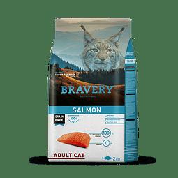 Bravery Salmon Gato Adulto 2 Kg