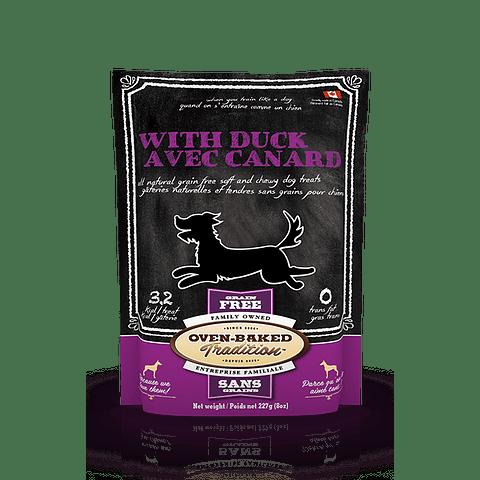 Oven-Baked Grain Free Dog Treats Duck