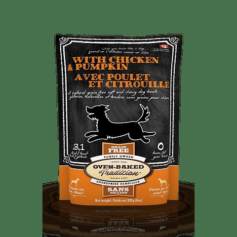 Oven-Baked Grain Free Dog Treats Chicken & Pumpkin