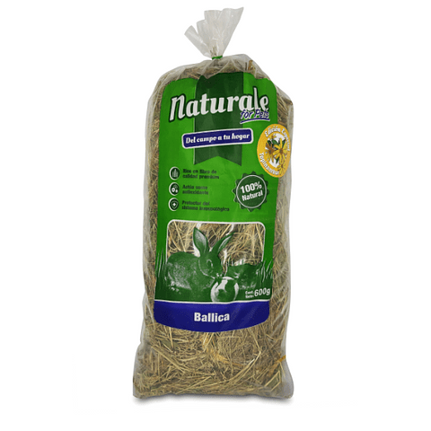 Heno de Ballica Topinambur Naturale for Pets 600 gr