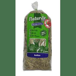 Heno de Ballica Rosa Mosqueta Naturale for Pets 600 gr