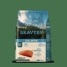 Bravery Salmon Adulto Raza Mediana-Grande 12 Kg