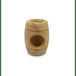 Naturale for Pets Barril Refugio de madera para Hamster