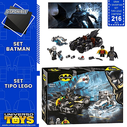 BATMAN SET TIPO LEGO