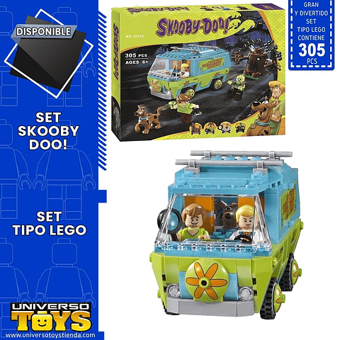 SCOOBY SET TIPO LEGO