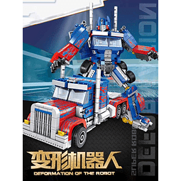 OPTIMUS PRIME SET TIPO LEGO