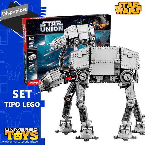 SET TIPO LEGO AT AT