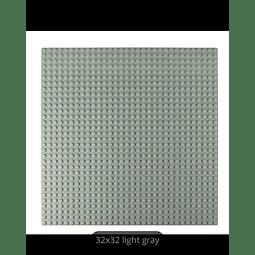BASE PLATE LIGHT GRAY 32X32 DOOTS