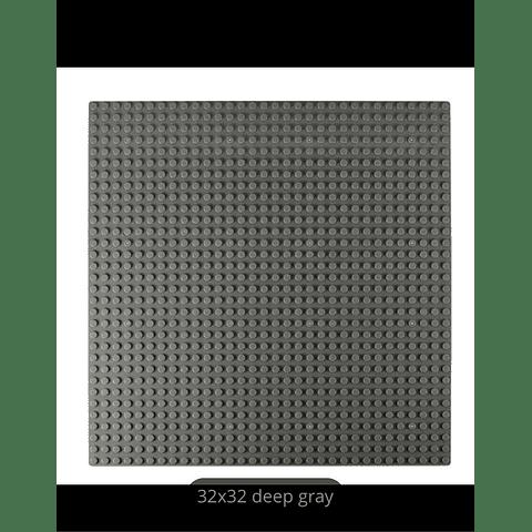 BASE PLATE DEEP GRAY 32X32 DOOTS