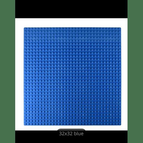BASE PLATE BLUE 32X32 DOOTS (25CMS X 25CMS)