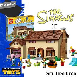 SET TIPO LEGO (CASA SIMPSON)
