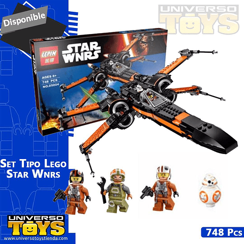 SET TIPO LEGO XWING