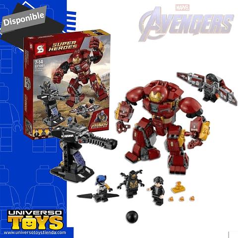 Set Tipo Lego Hulkbuster Smash-up Marvel