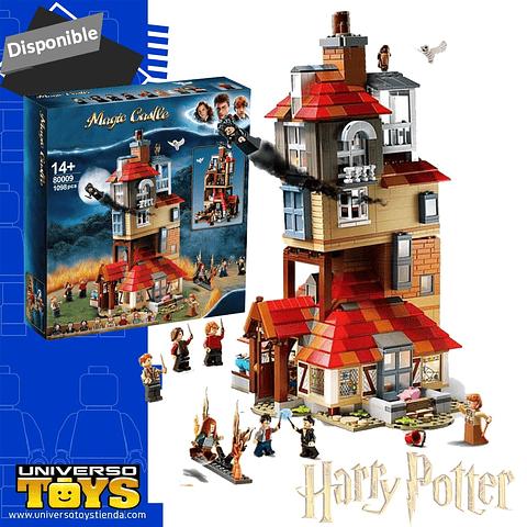 Lego Set Alternativo Harry Potter Ataque En La Madriguera