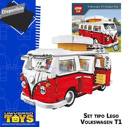 Lego Set Alternativo Marca Lepin Volkswagen Camper Van