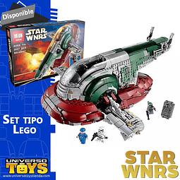 SLAVE 1 Set Tipo Lego STAR WARS
