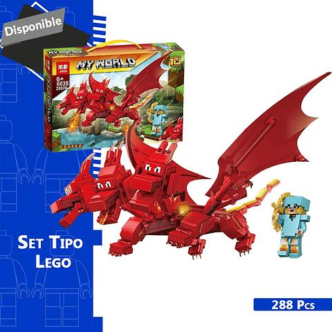MINECRAFT SET TIPO LEGO