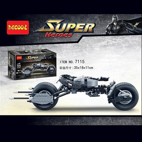 Set Tipo LEGO de Construcción MOTO BATMAN