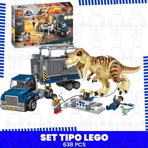 Tiranosaurio Rex Transporte Jurassic World