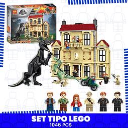 Mundo Jurásico Indoraptor Set Tipo Lego Jurassic World