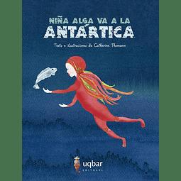 Niña alga va a la Antártica