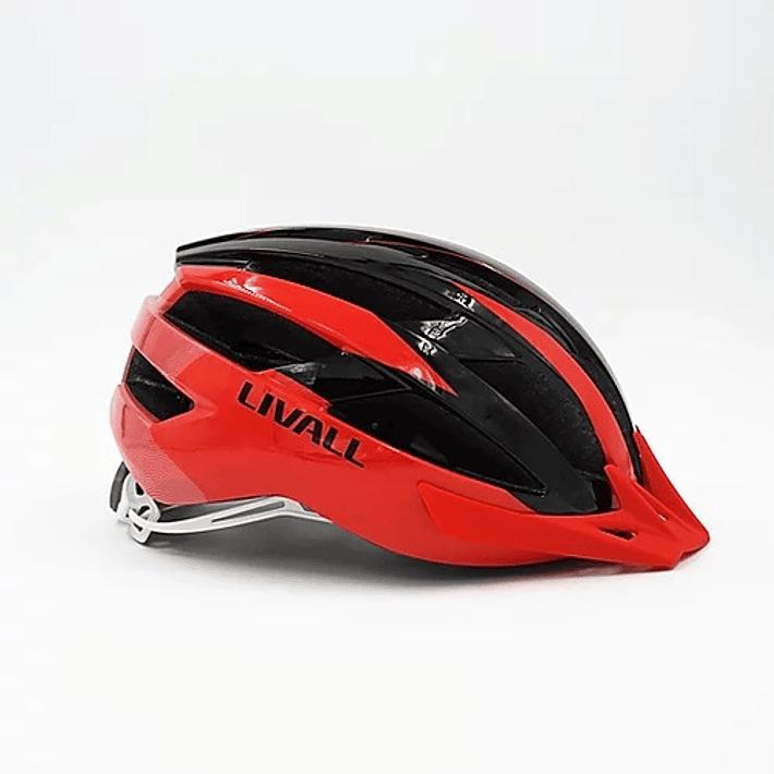 Casco MT1 Rojo - Negro- Image 2