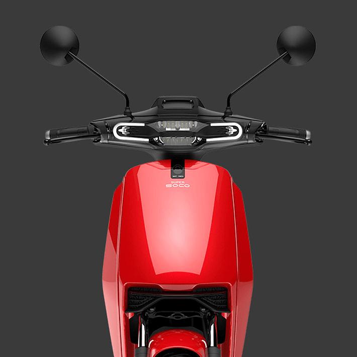 Super Soco Cux Roja- Image 5