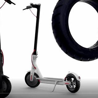 Diferencia entre rueda con cámara y maciza