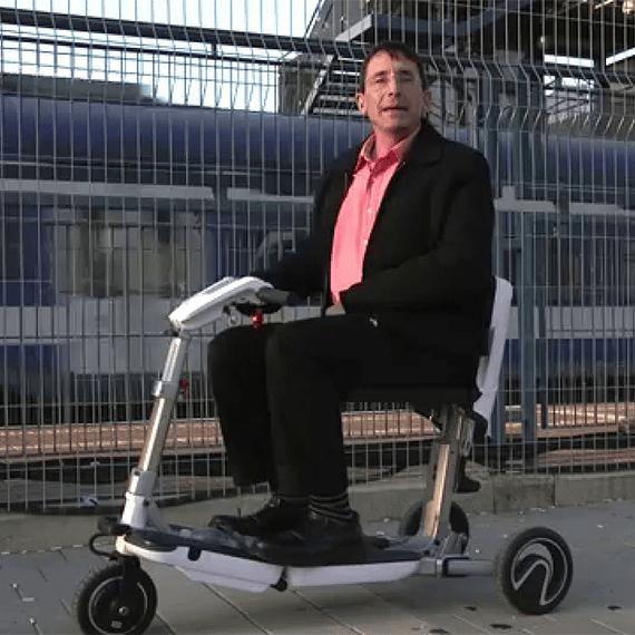 Scooter 3era Edad o Movilidad Reducida ATTO MovingLife- Image 7