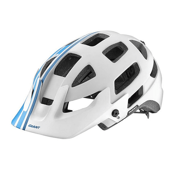 Casco Giant Rail Blanco / Azul- Image 2