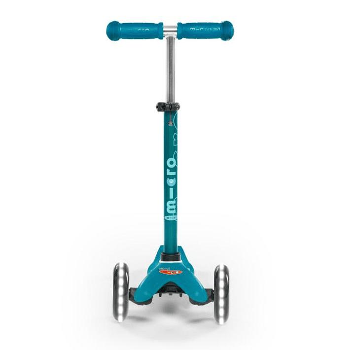 Micro Scooter Mini Deluxe LED Aqua- Image 3