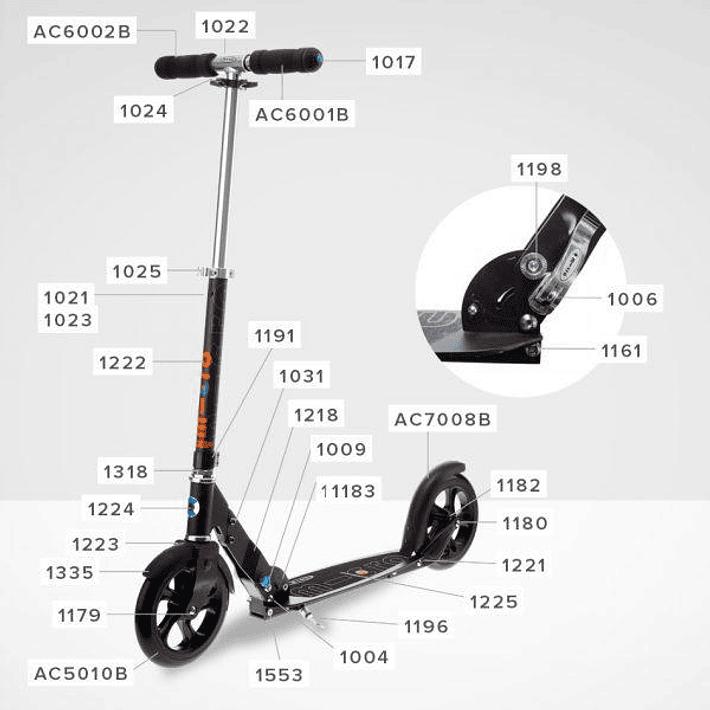 Scooter / Mangos Completos de Espuma- Image 2