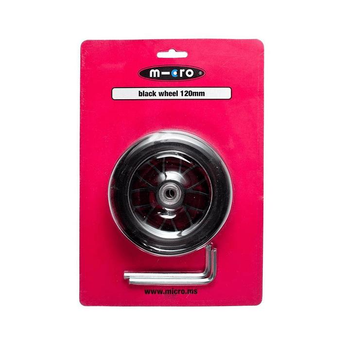 AC5006B Maxi, Compact y Bullet / Rueda negra 120mm- Image 1
