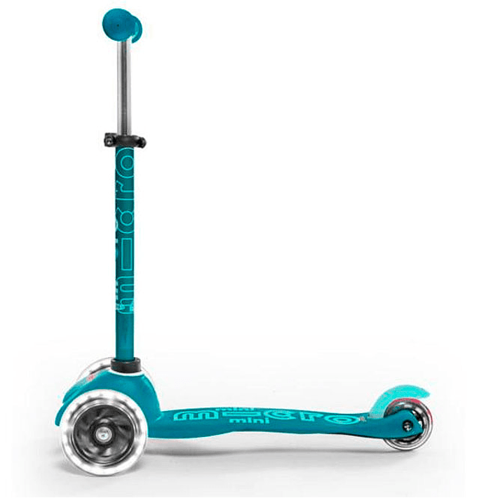 Micro Scooter Mini Deluxe LED Aqua- Image 5