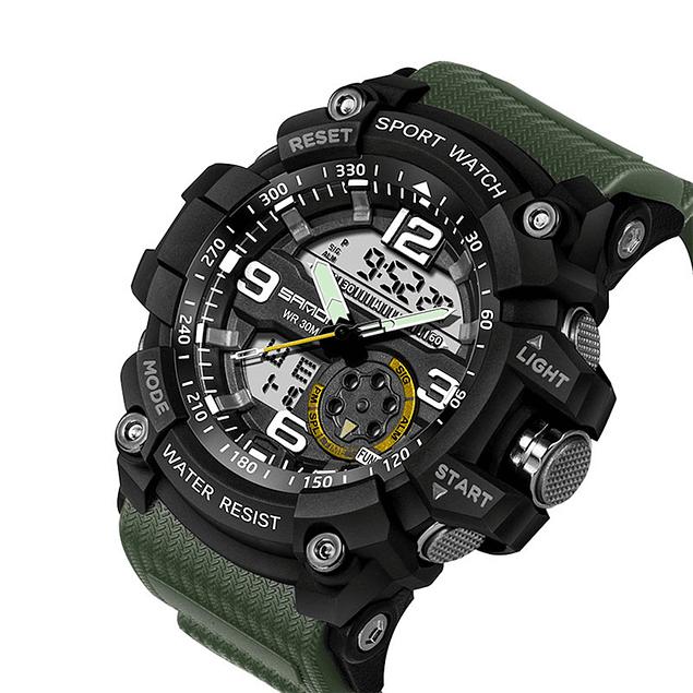 14ba811e92cb Reloj Deportivo Militar Hombres LED Digital SANDA 038